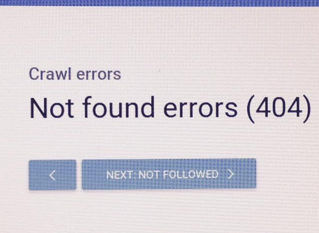 404 SEO mistakes