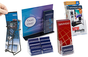 Displays for conference collateral